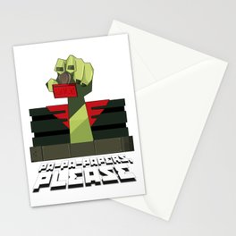 PA-PA-PAPERS, PLEASE!!! Stationery Cards