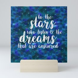 Dreams That Are Answered Mini Art Print