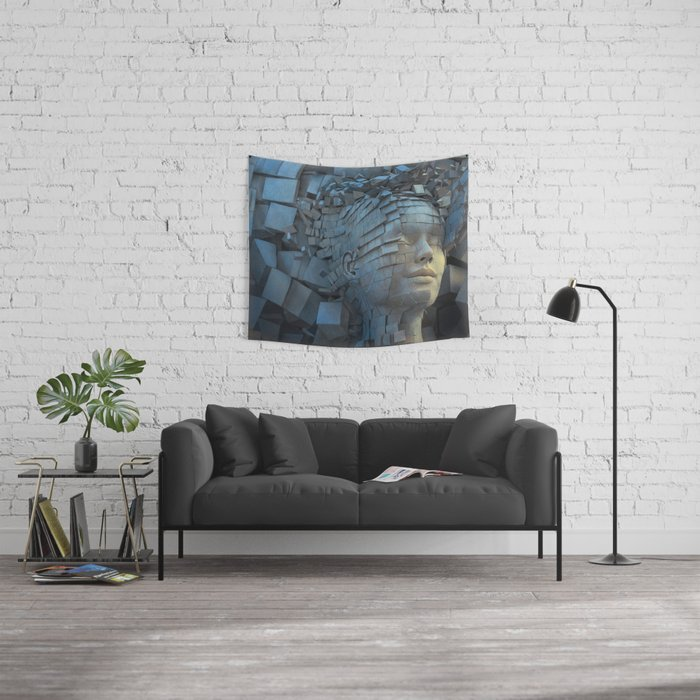 Dissolution of Ego Wall Tapestry