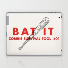 Bat it - Zombie Survival Tools Laptop & iPad Skin