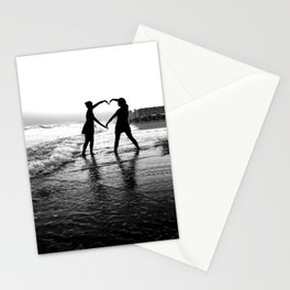 Love BW Stationery Cards