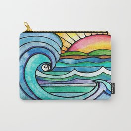 Beachy #society6 #spring #summer Carry-All Pouch