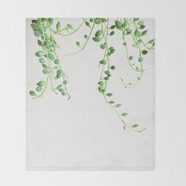 String of Pearls Throw Blanket