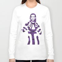megan lara Long Sleeve T-shirts featuring Fashion Lara Stone by fashionistheonlycure