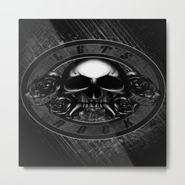 Made in Hell Metal Print