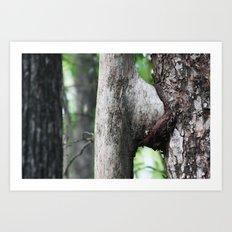 Tree sex  Art Print