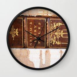 Grimm's Fairy Tales Wall Clock