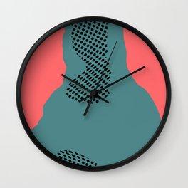 Mona, nu mach aber mal ein Punkt ·7 Wall Clock