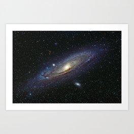 The Andromeda Galaxy Art Print