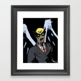 Zombie Birdman Framed Art Print