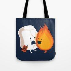 Friendly Fire Tote Bag