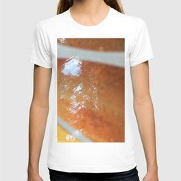 Orange glass T-shirt