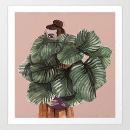 I love plants more than I love you Art Print
