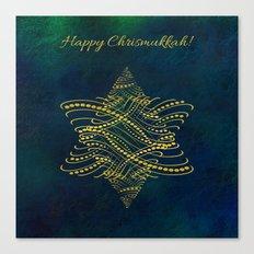Happy Chrismukkah! Canvas Print
