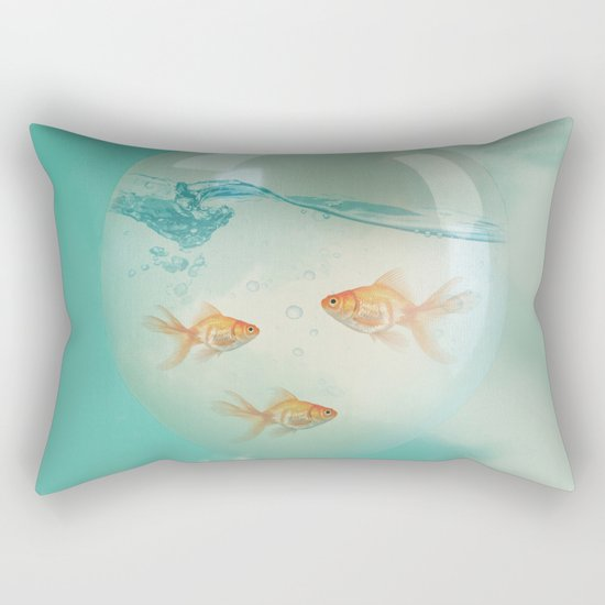balloon fish 03 Rectangular Pillow