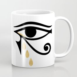 ALL SEEING CRY - Eye of Horus Coffee Mug