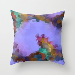 little sqares and rectangles pattern -18- Throw Pillow