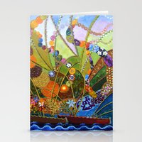 happiness Stationery Cards featuring Happiness by Vargamari