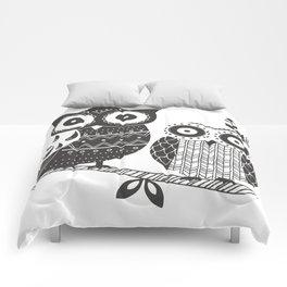 Boho Owl Comforters