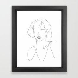 Feminine Touch Framed Art Print