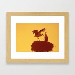 Stork's Nest I Framed Art Print