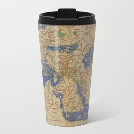 World Map 1154 Travel Mug