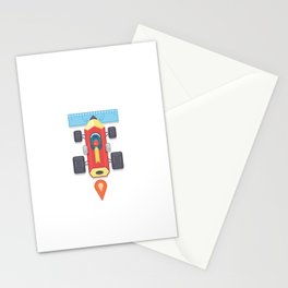 """Creative Drive - """"Car for illustrators"""" Stationery Cards"""