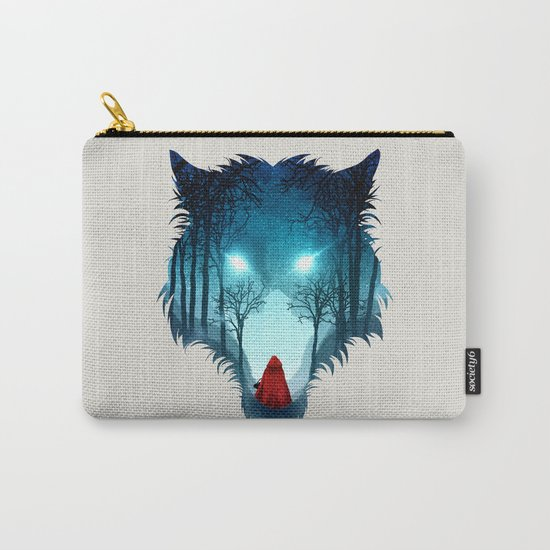 Big Bad Wolf (light version) Carry-All Pouch