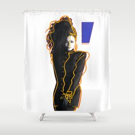 Janet Jackson - In Control Shower Curtain