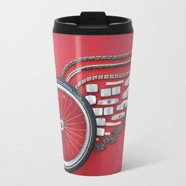 062: Red Wings  - 100 Hoopties Travel Mug