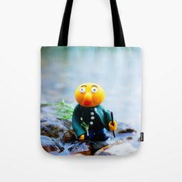 exhausted gwerg Tote Bag