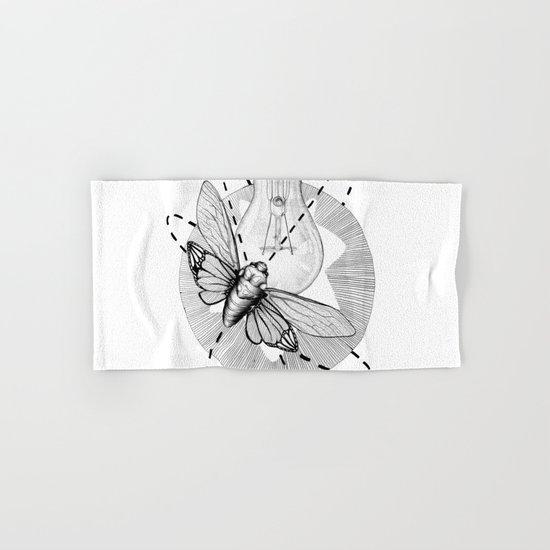 Moth to the Flame Hand & Bath Towel