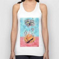 wreck it ralph Tank Tops featuring ship wreck. by BRUM.