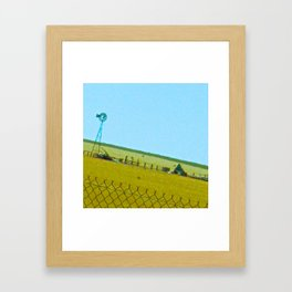 Wind Damage Framed Art Print