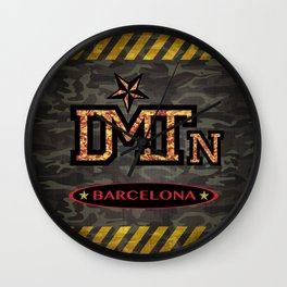 DMTN Barcelona Wall Clock