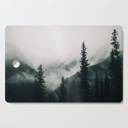 Over the Mountains and trough the Woods -  Forest Nature Photography Cutting Board