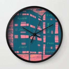 Palafito for Rent Wall Clock