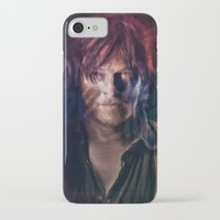 daryl iPhone & iPod Cases featuring Daryl Dixon by Guilherme Marconi