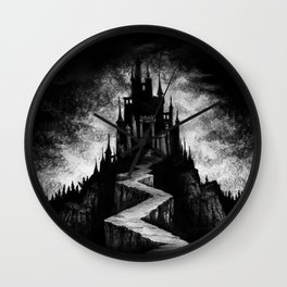 Vampire Castle Wall Clock