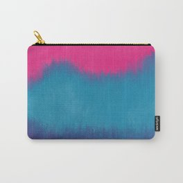 Very Vibrant Abstract Mountains Carry-All Pouch
