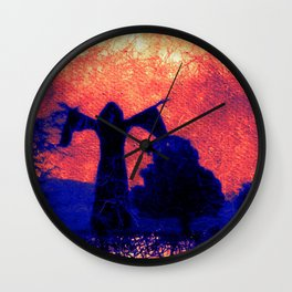 The Dark Wizard Wall Clock