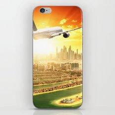 traveling in dubai iPhone & iPod Skin