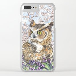 Wisdom and Beauty Clear iPhone Case
