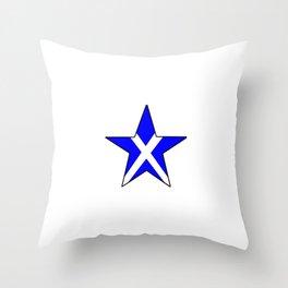 flag of scotland 8– scotland,scot,scottish,Glasgow,Edinburgh,Aberdeen,dundee,uk,cletic,celts,Gaelic Throw Pillow