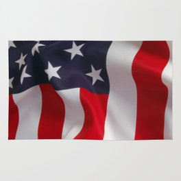 American Flag - the Stars and Stripes Rug