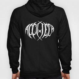 Accu-tech Black Metal Logo Shirt Hoody