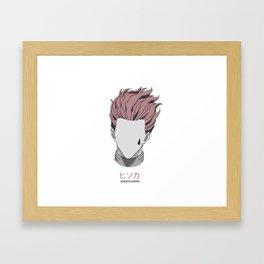 Hisoka from Hunter X Hunter Framed Art Print