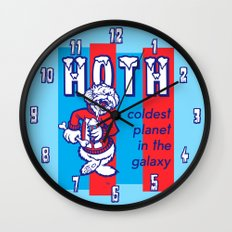 HOTH: COLDEST IN THE GALAXY Wall Clock