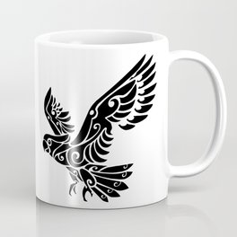 Tribal Cockatoo parrot bird tattoo Coffee Mug
