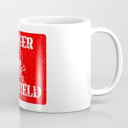 Danger Minefield Coffee Mug